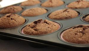 die fertigen Muffins